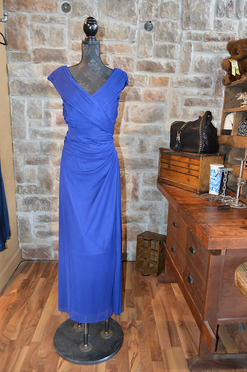 Large (14W) Blue Gown By Alex Evenings