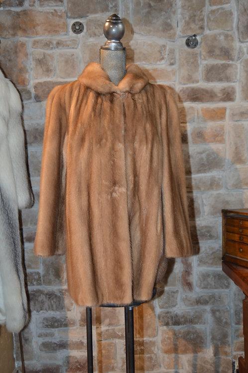 XL Autumn Haze Mink Jacket
