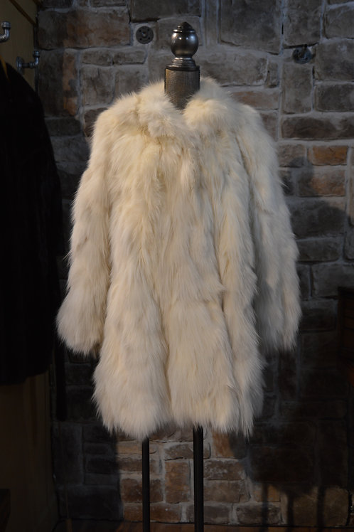 XL Arctic Fox Coat