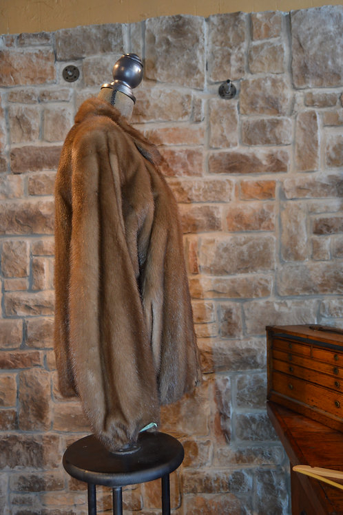 Large Down Mink Jacket