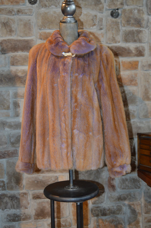 Medium/Large Lilac Shadow Autumn Haze Female Mink Jacket