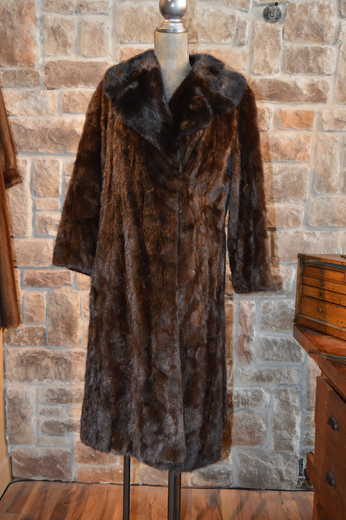 Medium Ranch Mink Long Coat