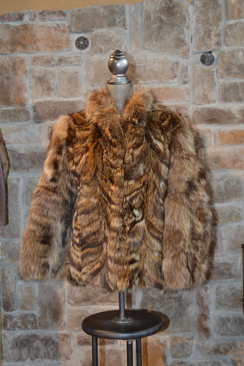 Medium North American Raccoon Jacket