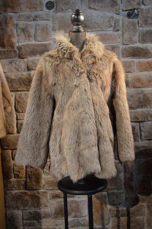 Large  Faux Fur Coat