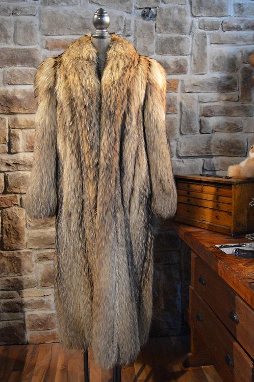 L-Fink Raccoon Coat
