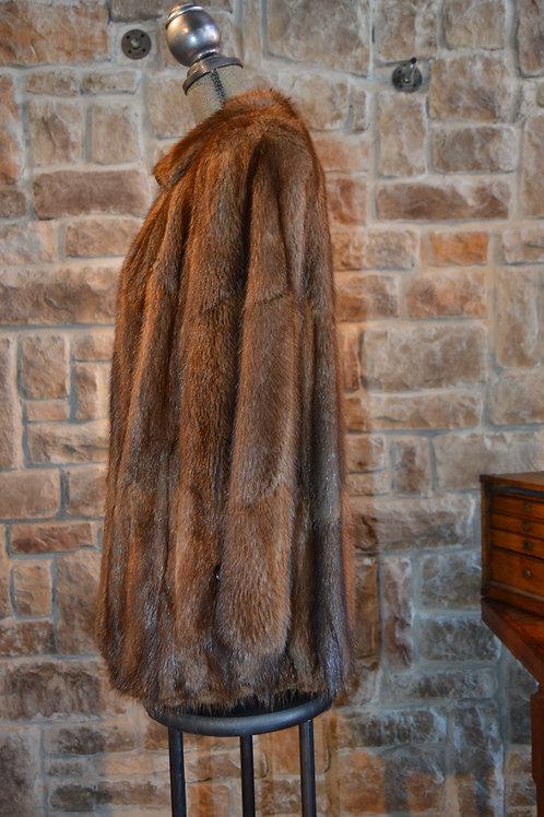 Large Muskrat skins Jacket