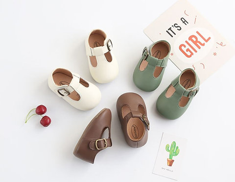 Lady Like Leather Shoe for Baby Girl & Little Girl