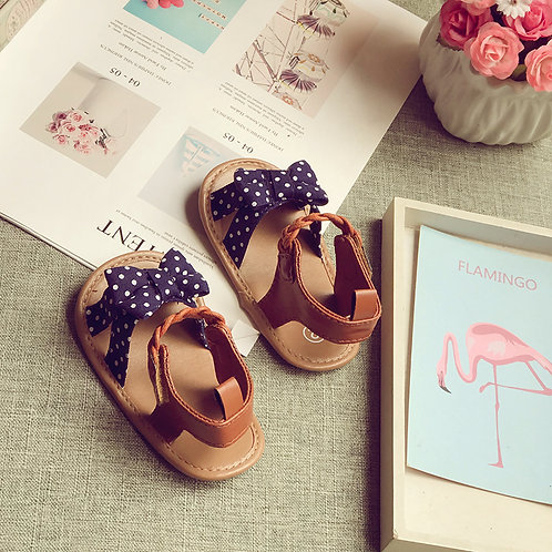 Vintage Ribbon Sandal for Baby Girl