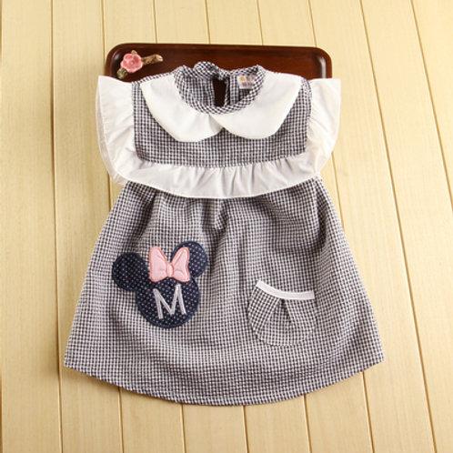 Minnie Design Feeding Apron for Baby Girl