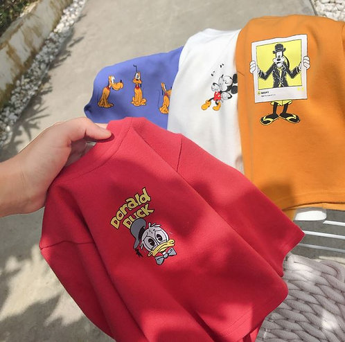Mickey & Friends Long Sleeve Top for Baby Boy/Girl/Toddler