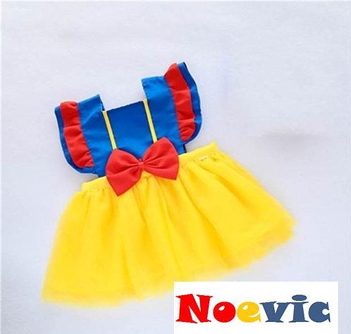 Snow White Design Dress for Little Girl