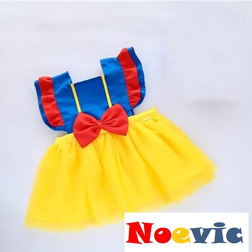 Snow White Design Dress for Little Girl