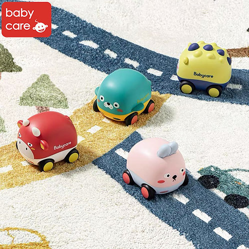Babycare Push & Go Car Toy (With Music)