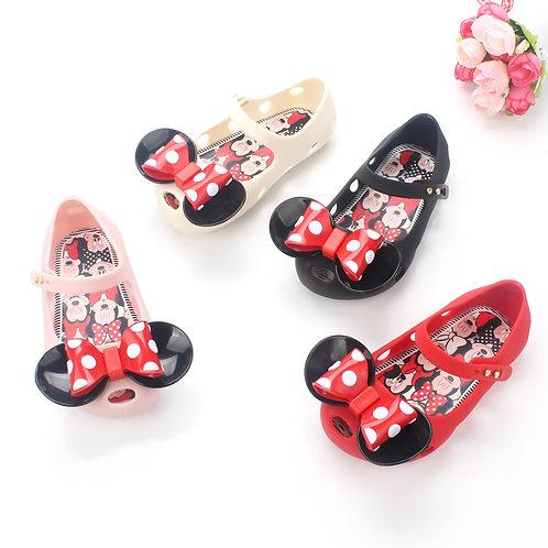 Minnie Design Comfortable Jelly Shoe