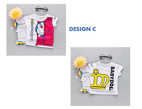 Doraemon Shirt for Baby Girl/Boy & Toddler