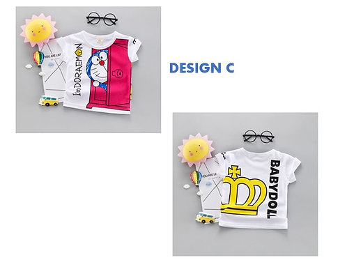 Doraemon Shirt for Baby Girl/Boy & Toddler