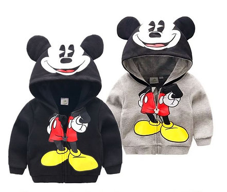 Mickey Design Hoodie Jacket for Baby Girl & Boy