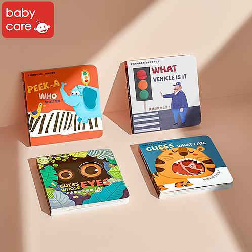 Babycare Peek A Flap Book (4 Sets)