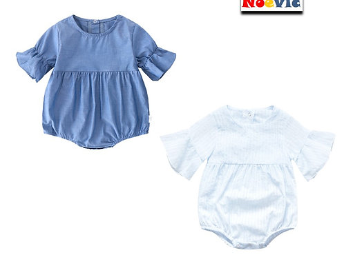 Flare Sleeve Baby Girl Romper/Jumpsuits