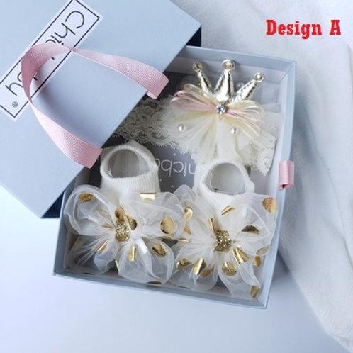 Fairy Headband and Socks Gift Set