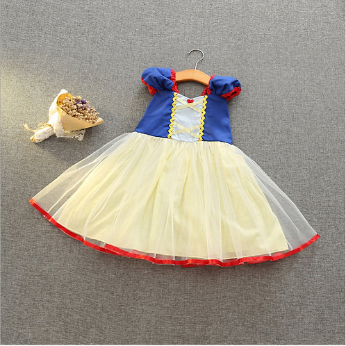 Pretty Snow White Dress for Little Girl/Toddler