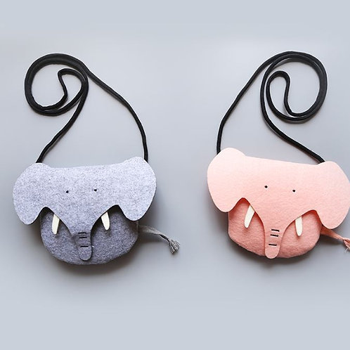 Litle Elephant Hanging Bag for Little Girl
