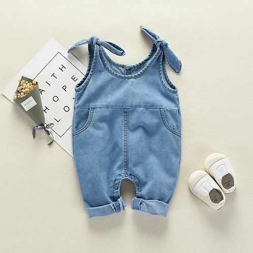 Jeans Like Baby Boy Suspender Jumpsuits