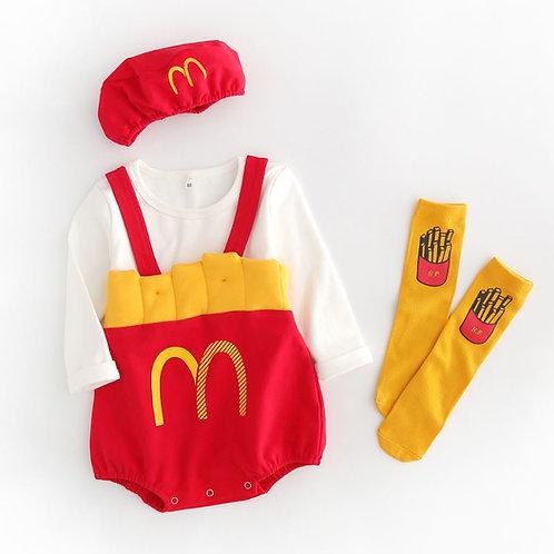 McD Costume Set for Baby Girl/Boy