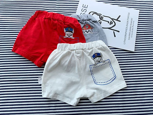 Paw Patrol Design Short Pant for Little Boy