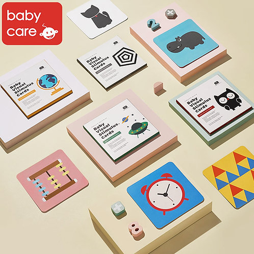 Babycare Baby Visual Stimulus Cards