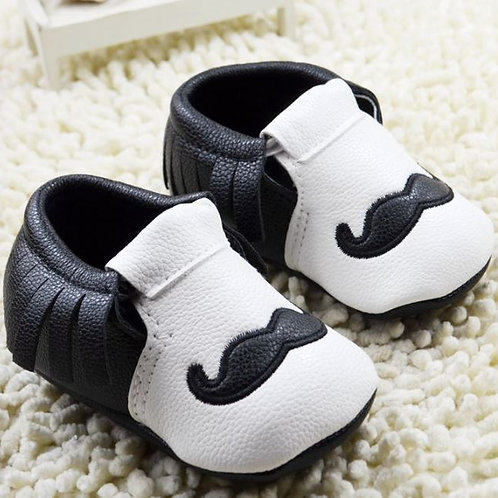 Mr Mustache Gentleman Non Slip Leather Shoe