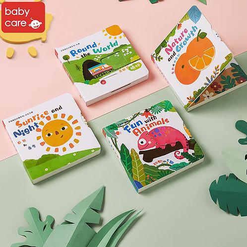 Babycare Sliding & Learning Books(4 Books)