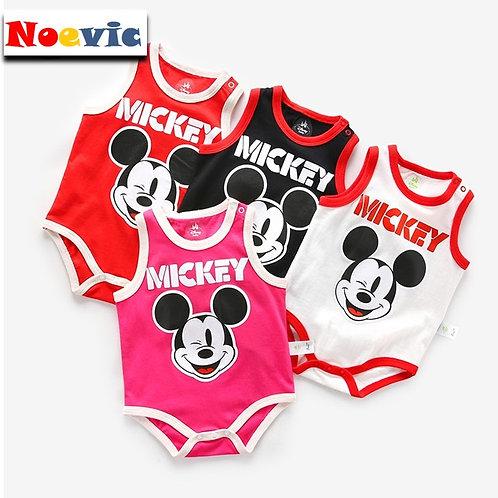 Mickey Singlet Romper/Bodysuits