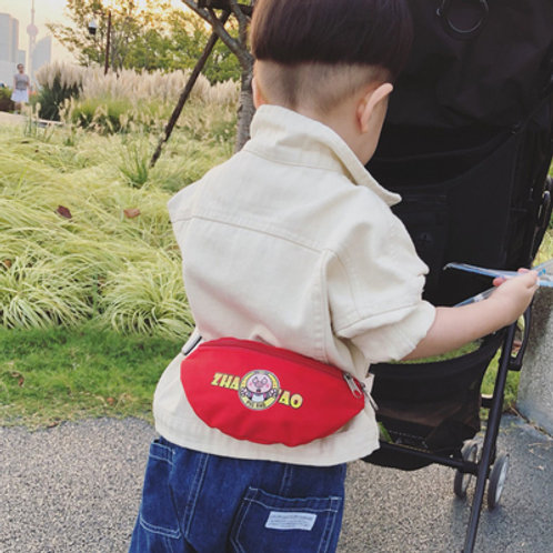 Cute Cartoon Sling Bag for Little Boy