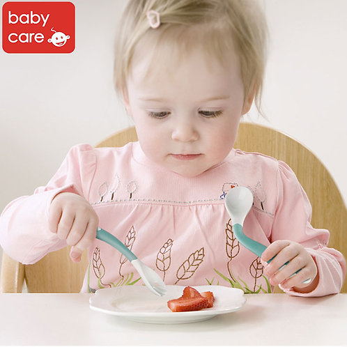 Babycare Baby Spoon & Fork Set