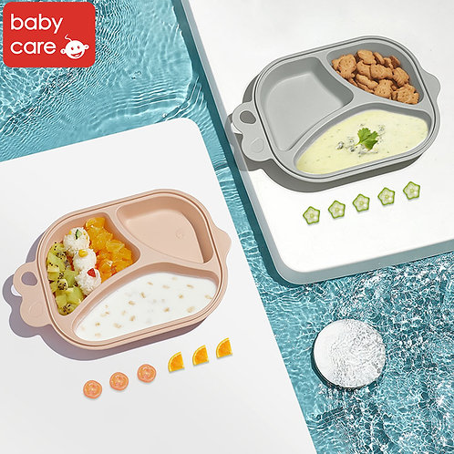 Babycare Baby Fish Plate