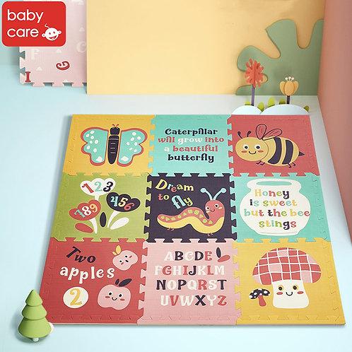 Babycare Splicing Play Mat (9pcs)