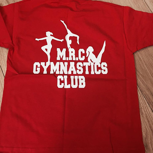 MRC GYMNASTIC CLUB  FEMALE T-SHIRT