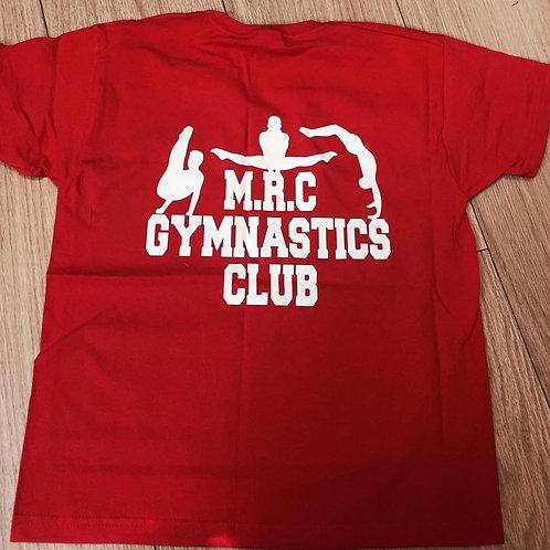 MRC GYMNASTIC CLUB  MALE  T-SHIRT