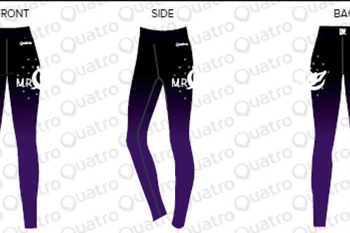 MRC OFFICIAL GYM CLUB TRACKSUIT LEGGINGS LEVEL 6 ONLY