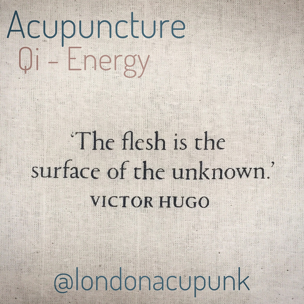 Qi and it's role in acupuncture