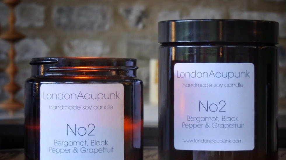 No 2 Bergamot, Black Pepper & Grapefruit