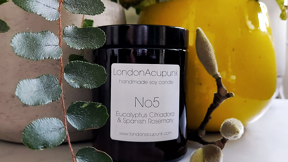 No5 Eucalyptus Citriadora & Spanish Rosemary