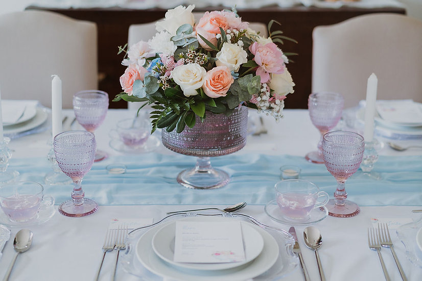 High Tea Tablescape Rental - Starting at 2 People
