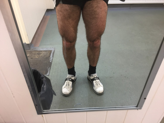 Yesterday's Leg Session Result + Total Transformation Challenge (details at the bottom)