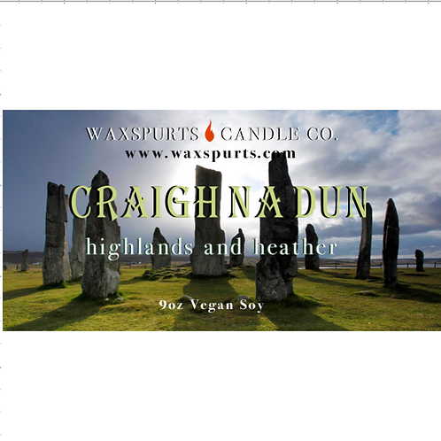Craigh Na Dun candles and wax melts