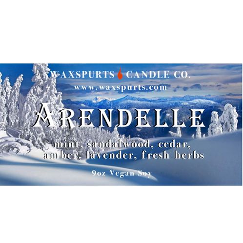 Arendelle candles and wax melts