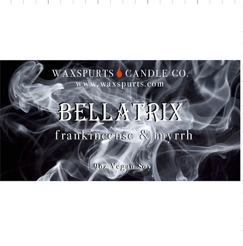 Bellatrix candles and wax melts