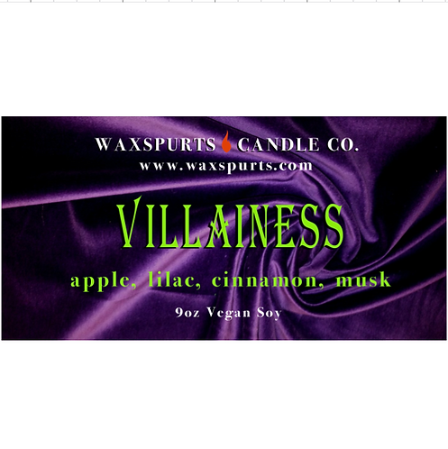Villainess candles and wax melts