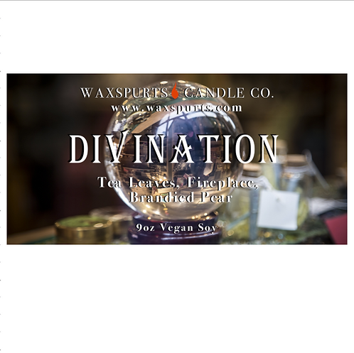 Divination candles and wax melts